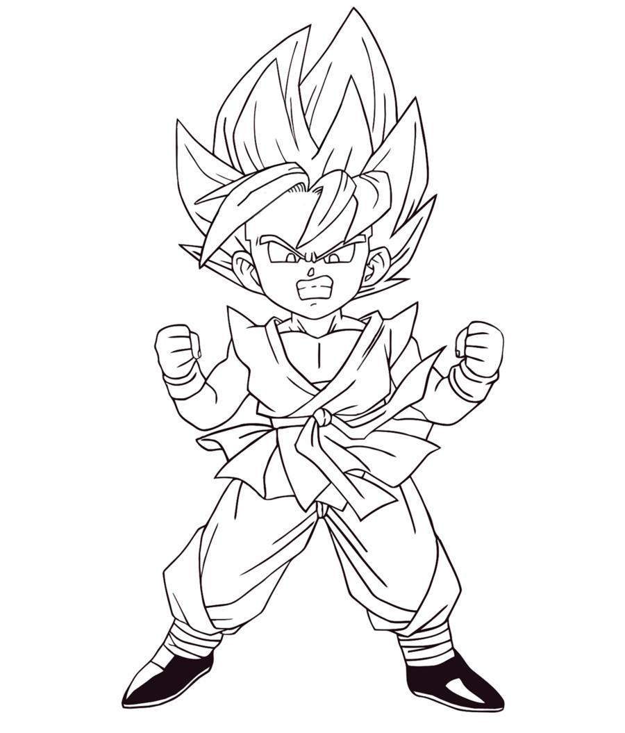 Desenhos Colorir Dragon Ball Z