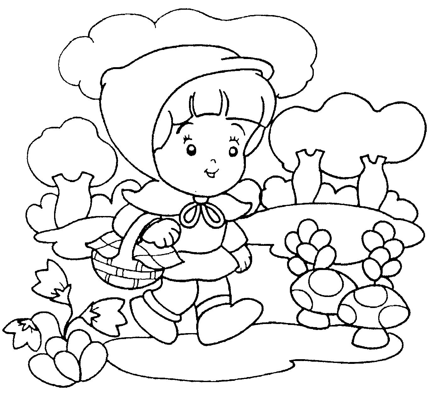 Desenhos Da Chapeuzinho Vermelho Para Colorir E Imprimir Desenhos