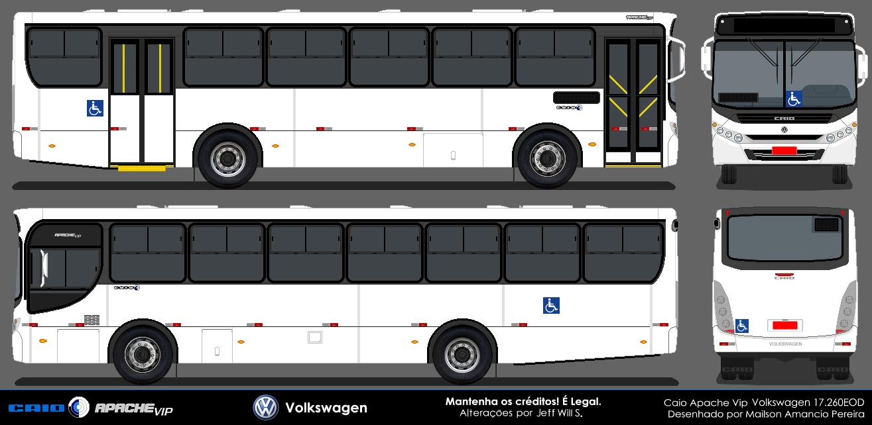 Desenhos De Ônibus Em Branco  Pedidos