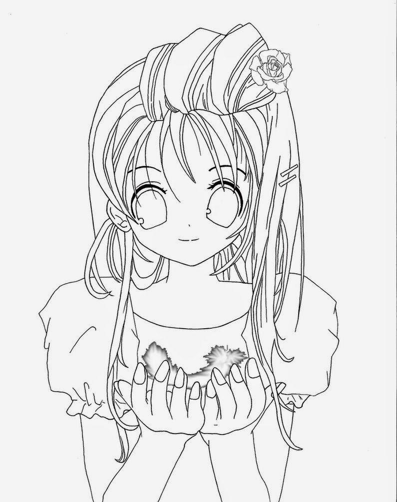 Desenhos De Anime Para Colorir E Imprimir