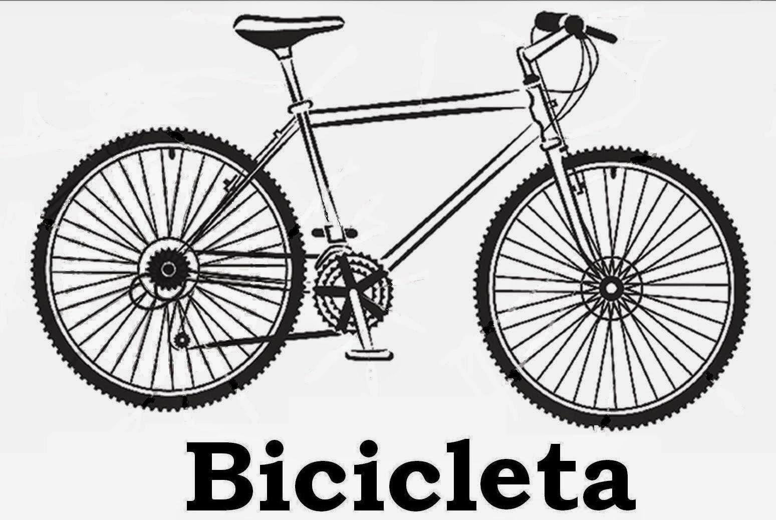 Desenhos De Bicicletas Para Colorir E Imprimir