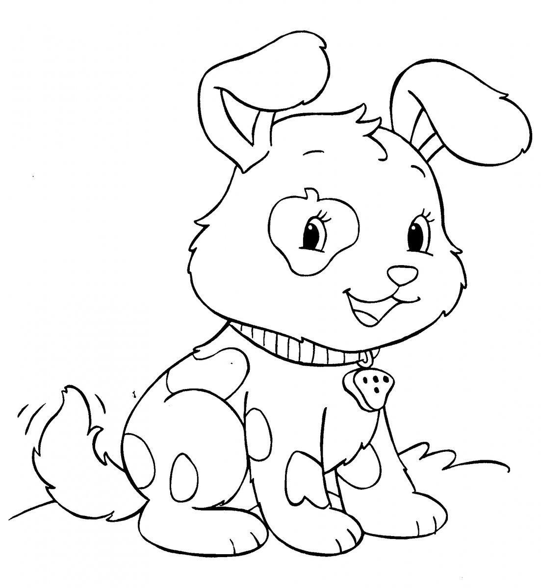 Desenhos De Cachorro Para Colorir