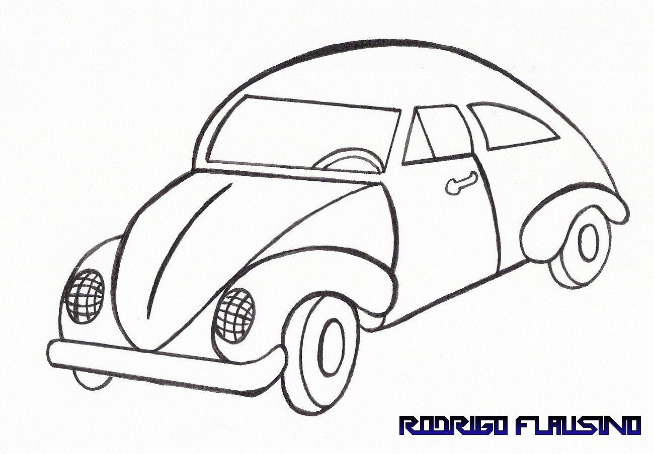 Desenho Para Colorir De Carros Disney: Desenhos De Carro