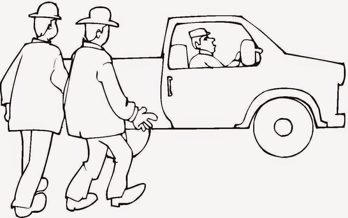 Desenhos De Carros Antigos Para Imprimir, Colorir, Pintar