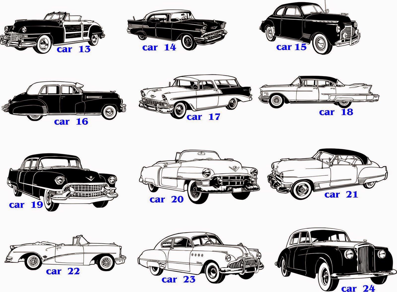Desenhos De Carros Antigos Para Imprimir Colorir Pintar Free