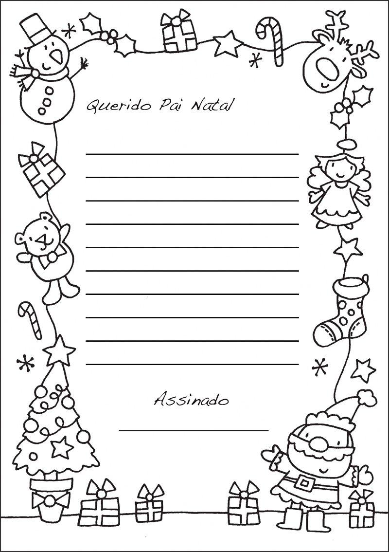 Desenhos De Natal Para Colorir E Imprimir