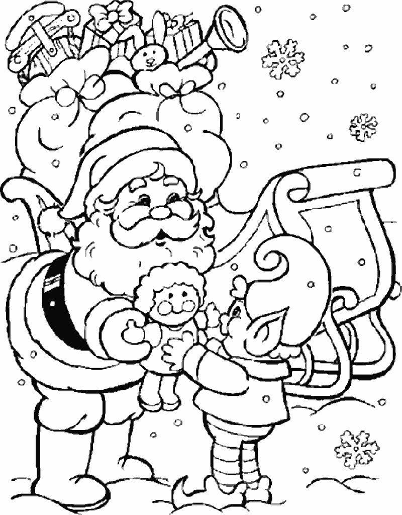 Desenhos De Natal Para Colorir E Imprimir Sketch Coloring Page