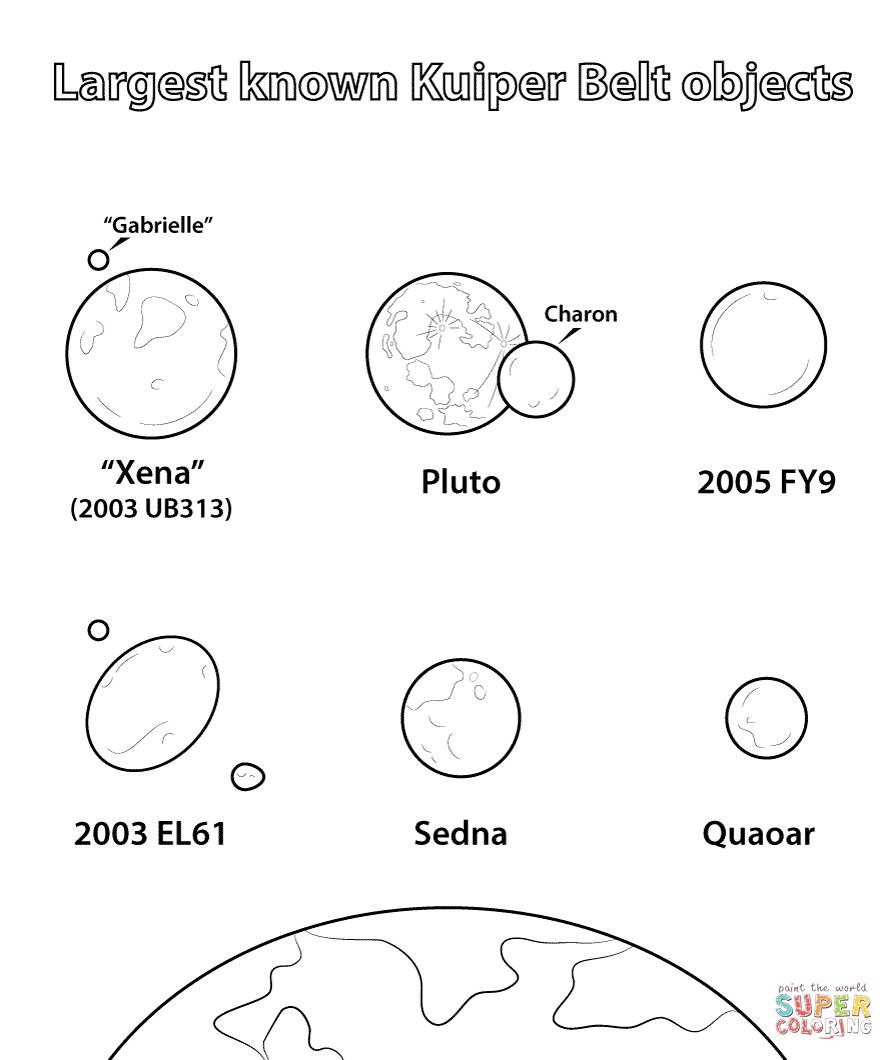 Desenhos De Sistema Solar Para Colorir