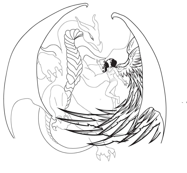 Desenhos De Tatuagens De Anjos