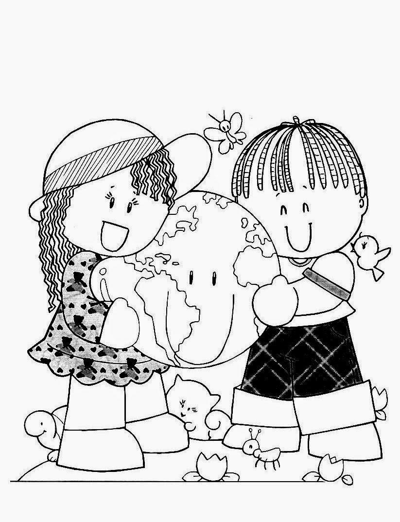 Desenhos Do Dia Das CrianÇas Para Imprimir E Colorir, Pintar
