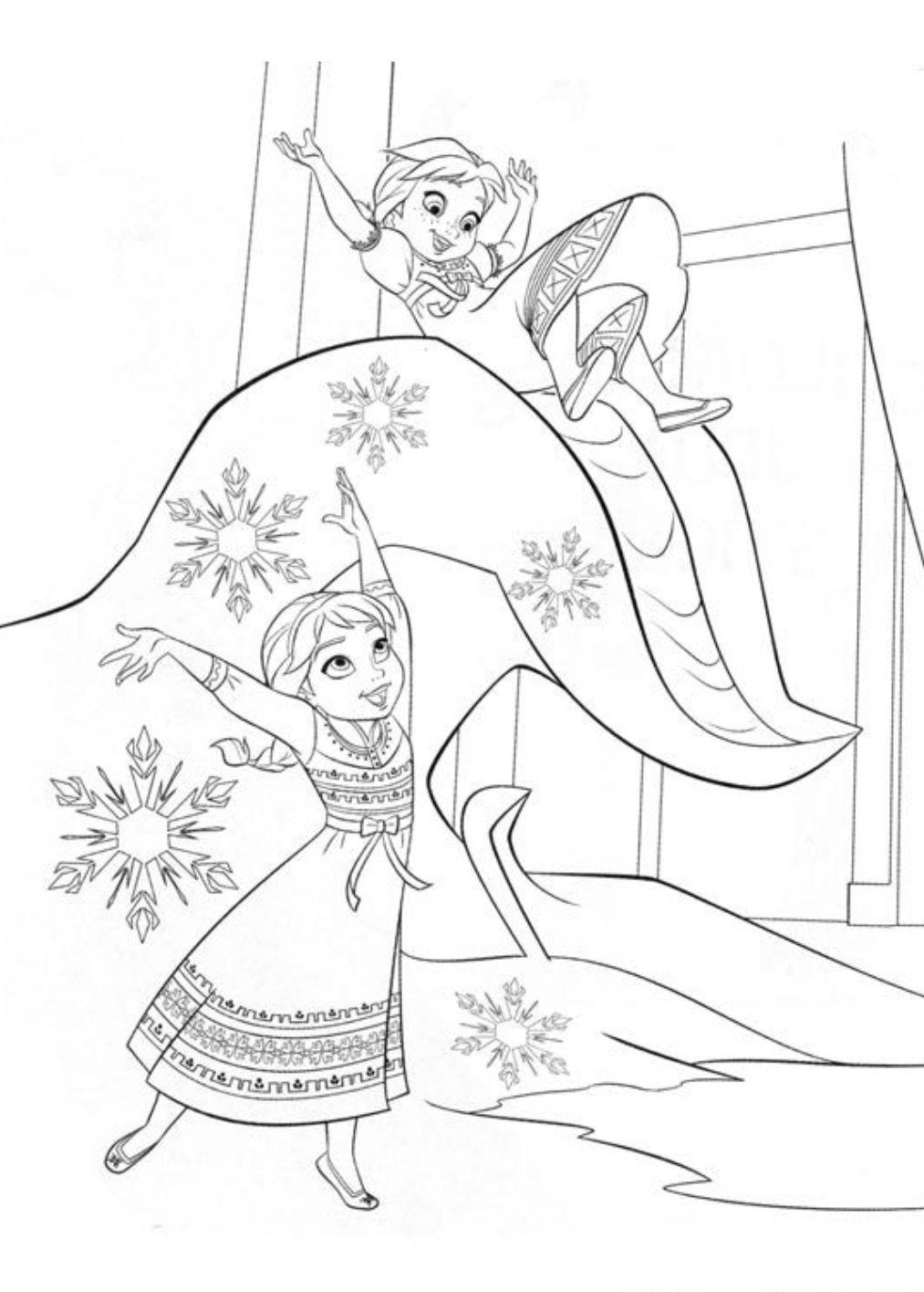 Desenhos Do Frozen Para Colorir E Imprimir