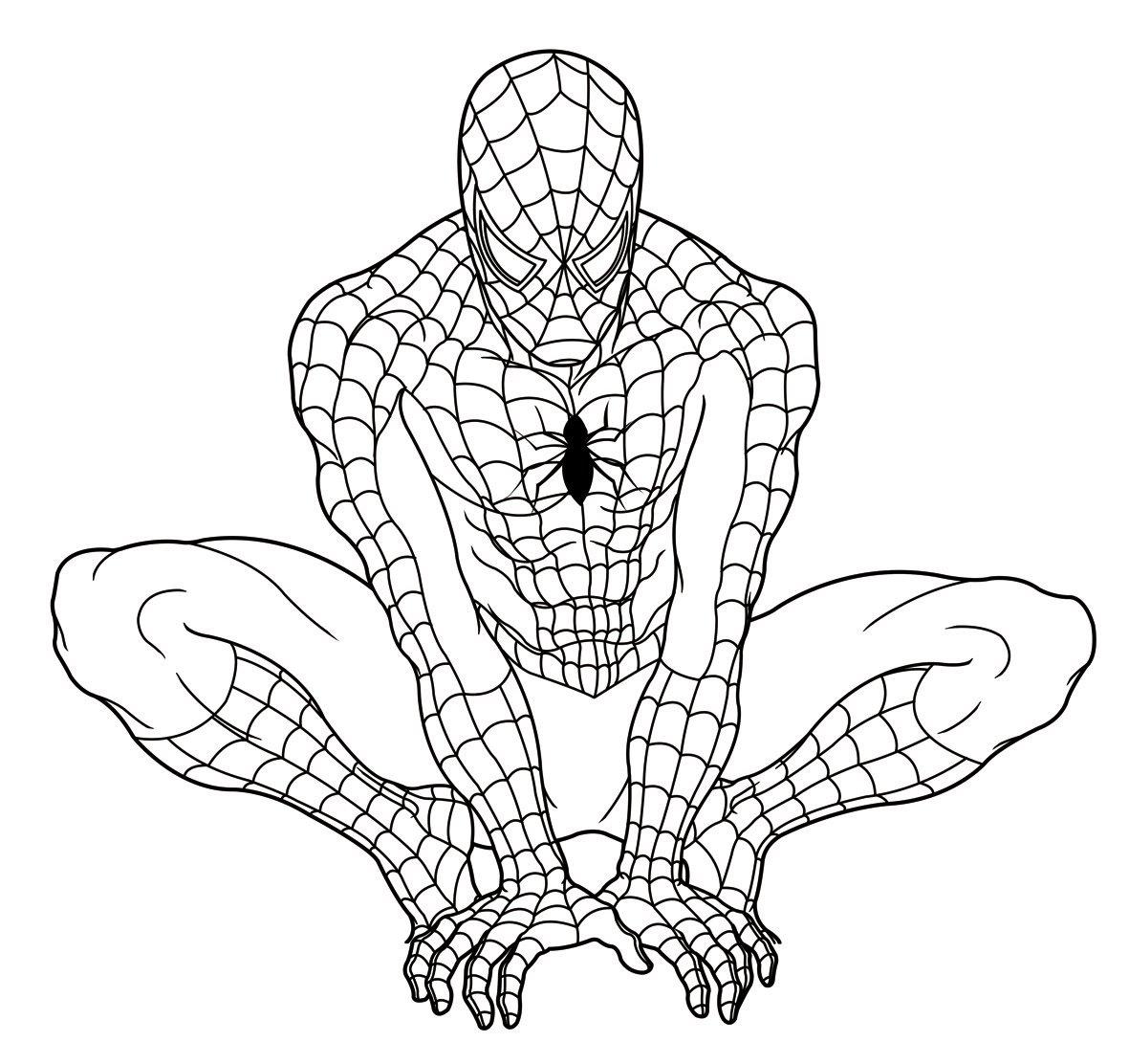 Desenhos Do Homem Aranha Para Colorir E Imprimir – Spiderman