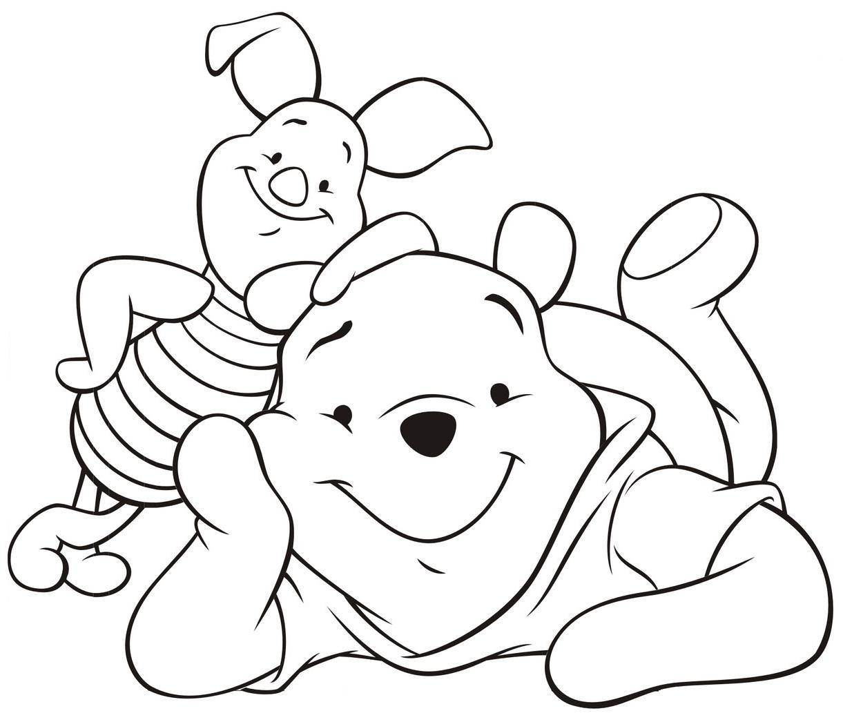 Desenhos Do Ursinho Pooh Para Colorir ~ Imagens Para Colorir