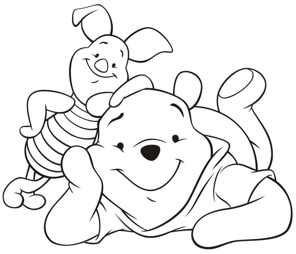 Desenhos Do Ursinho Pooh Para Colorir E Imprimir
