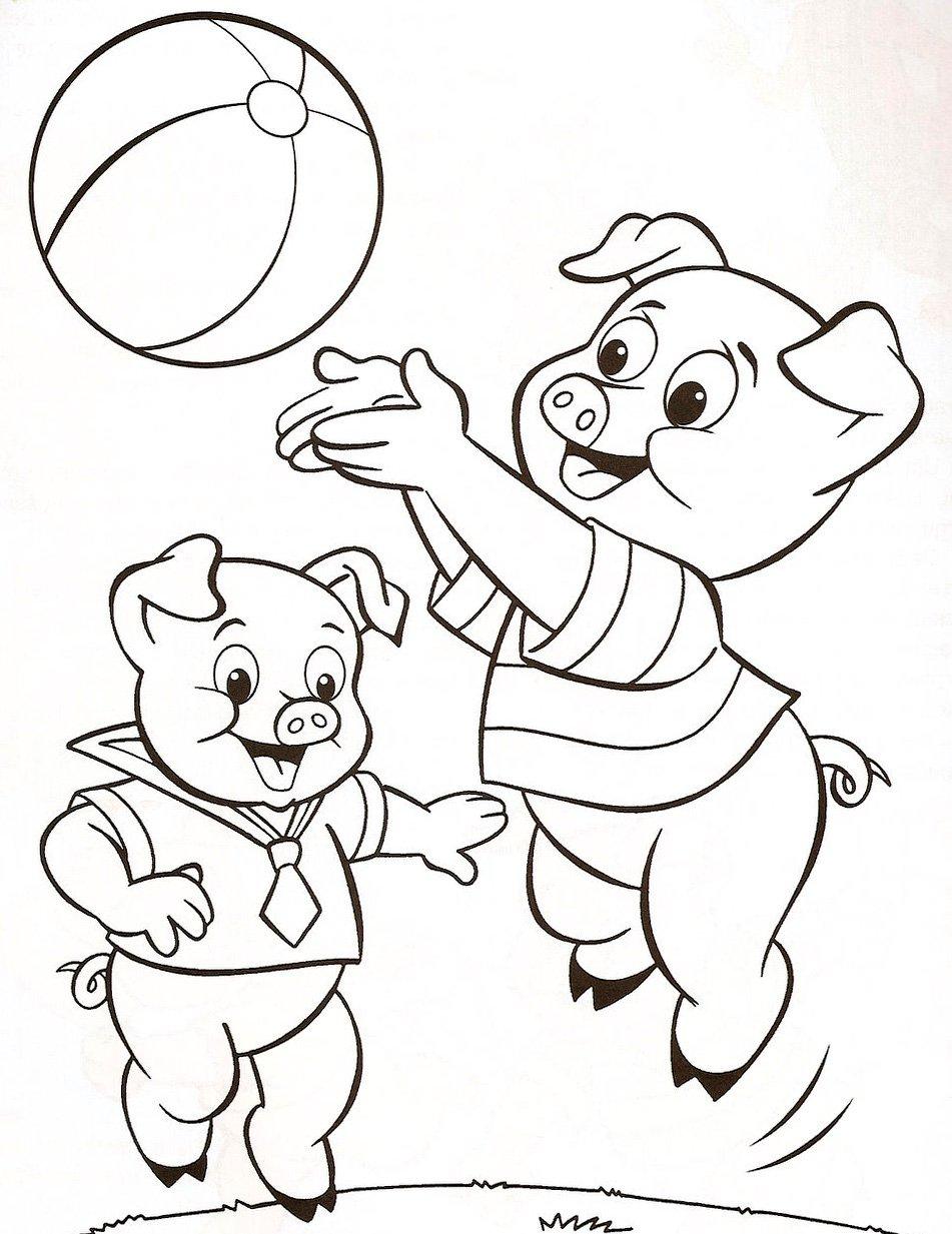 Desenhos Dos Três Porquinhos