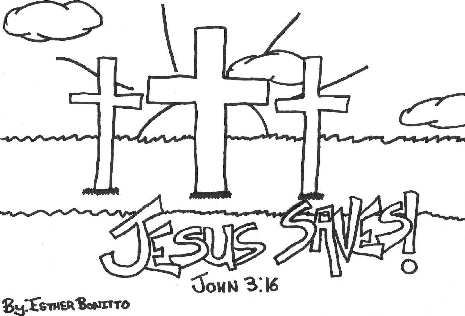 Desenhos Gospel Para Colorir