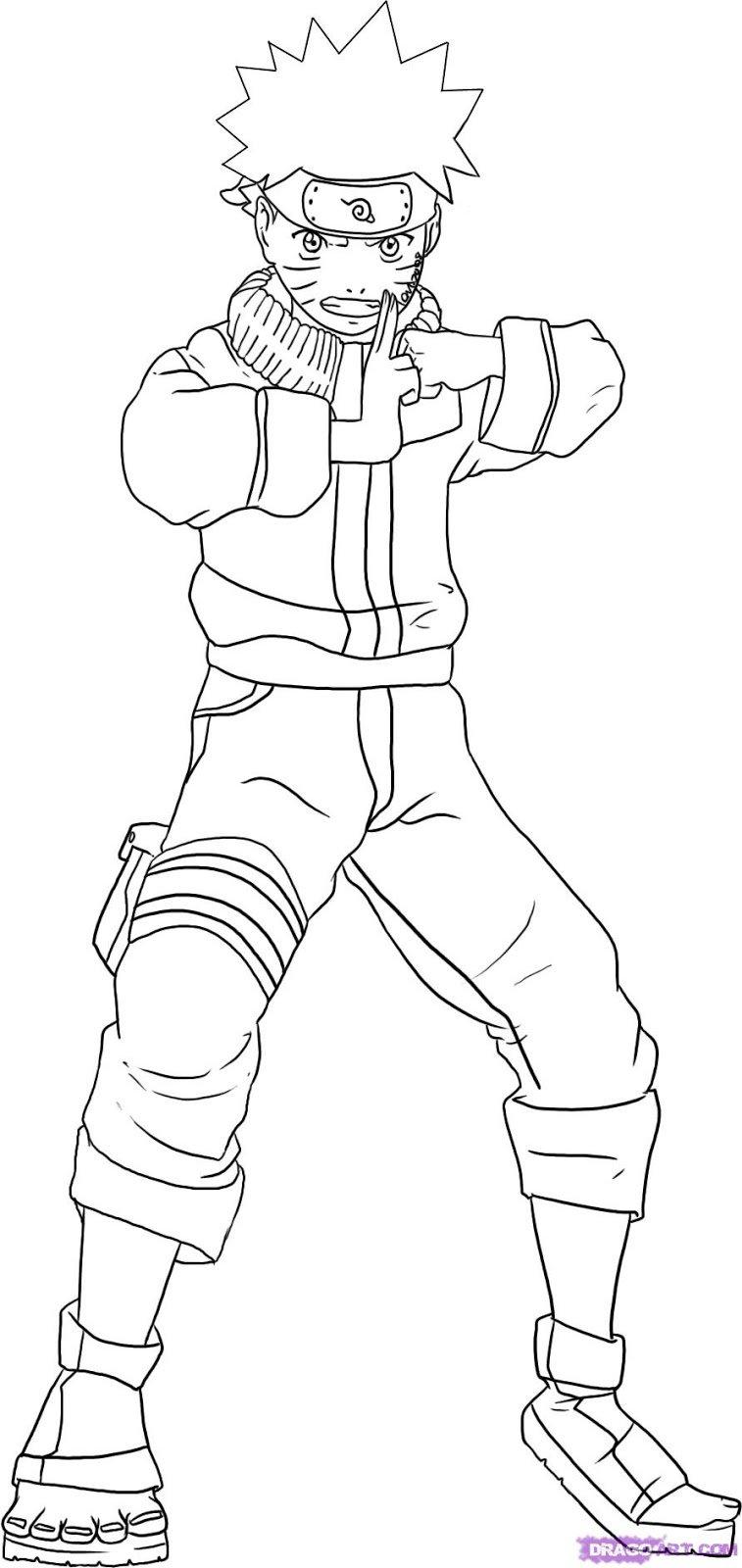 Desenhos Naruto Para Colorir ~ Imagens Para Colorir