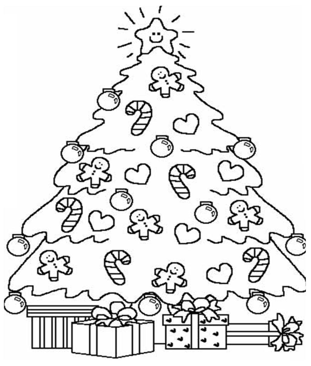 Desenhos Para Colorir árvore De Natal