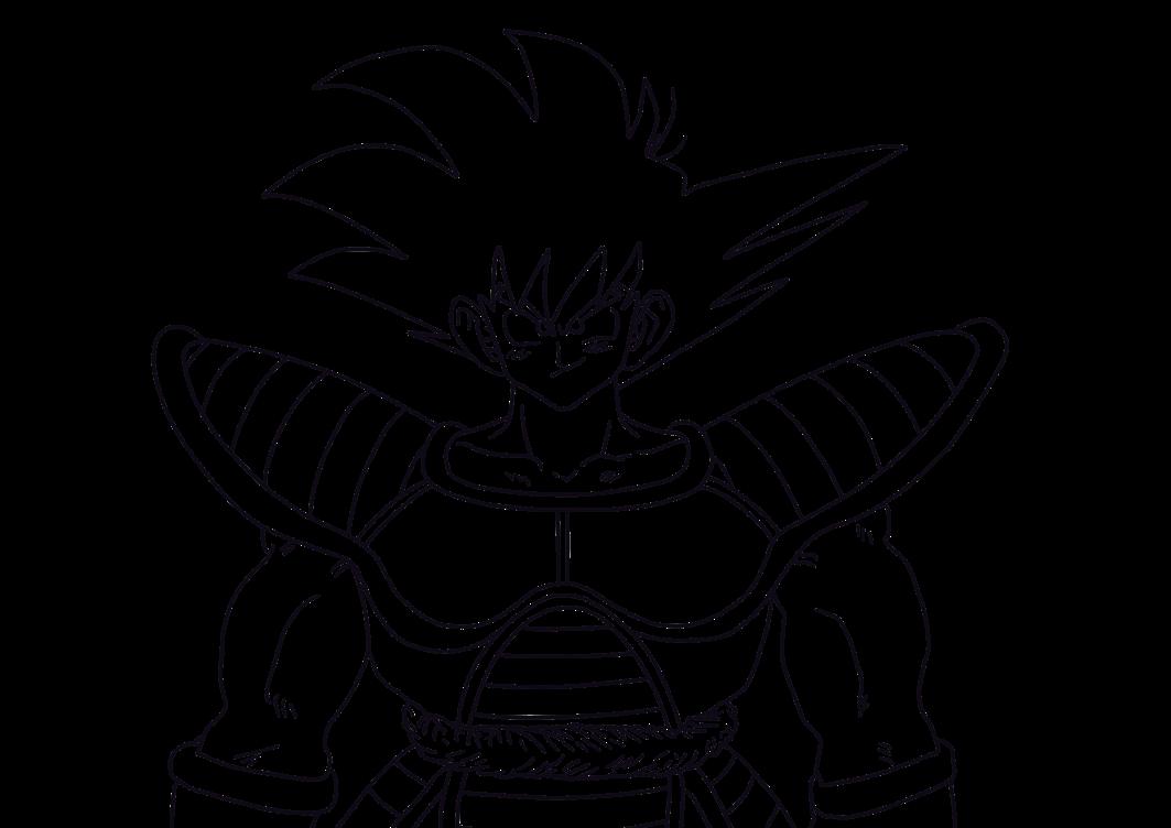 Desenho De Saiyan Para Colorir: Colorir Dragon Ball