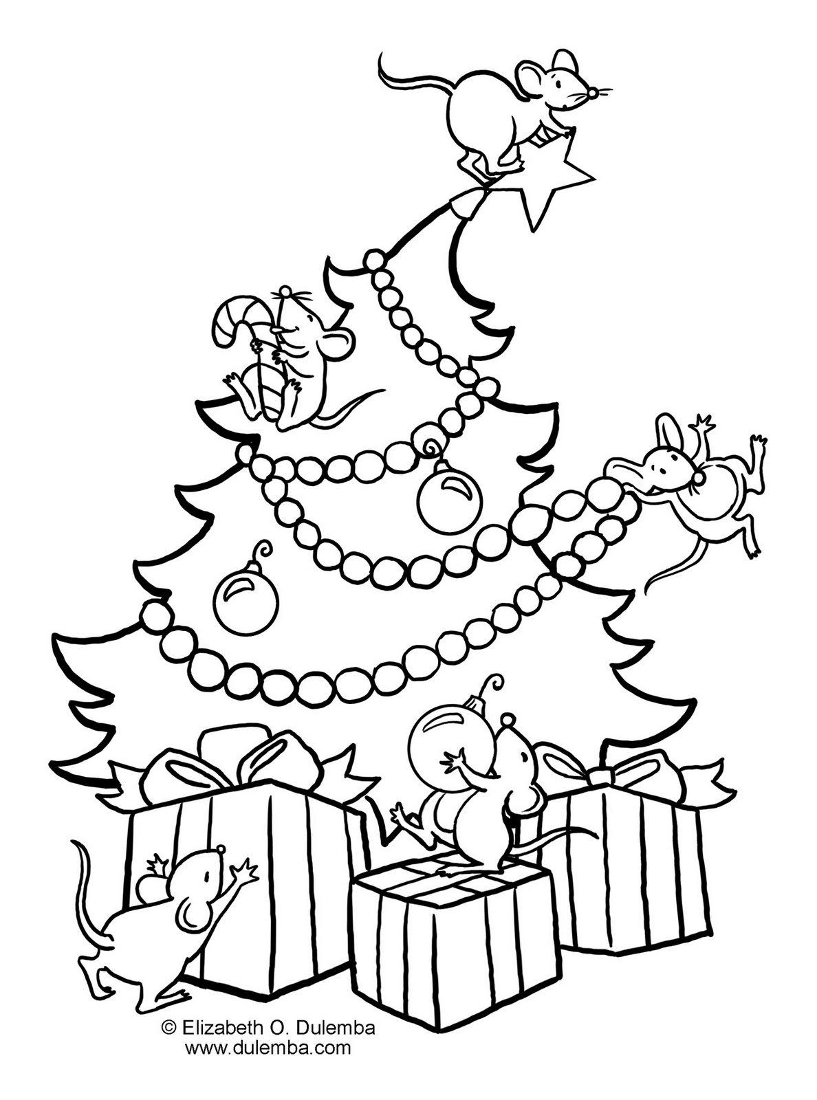 Desenhos Para Colorir  Desenhos Para Colorir Variados De Natal