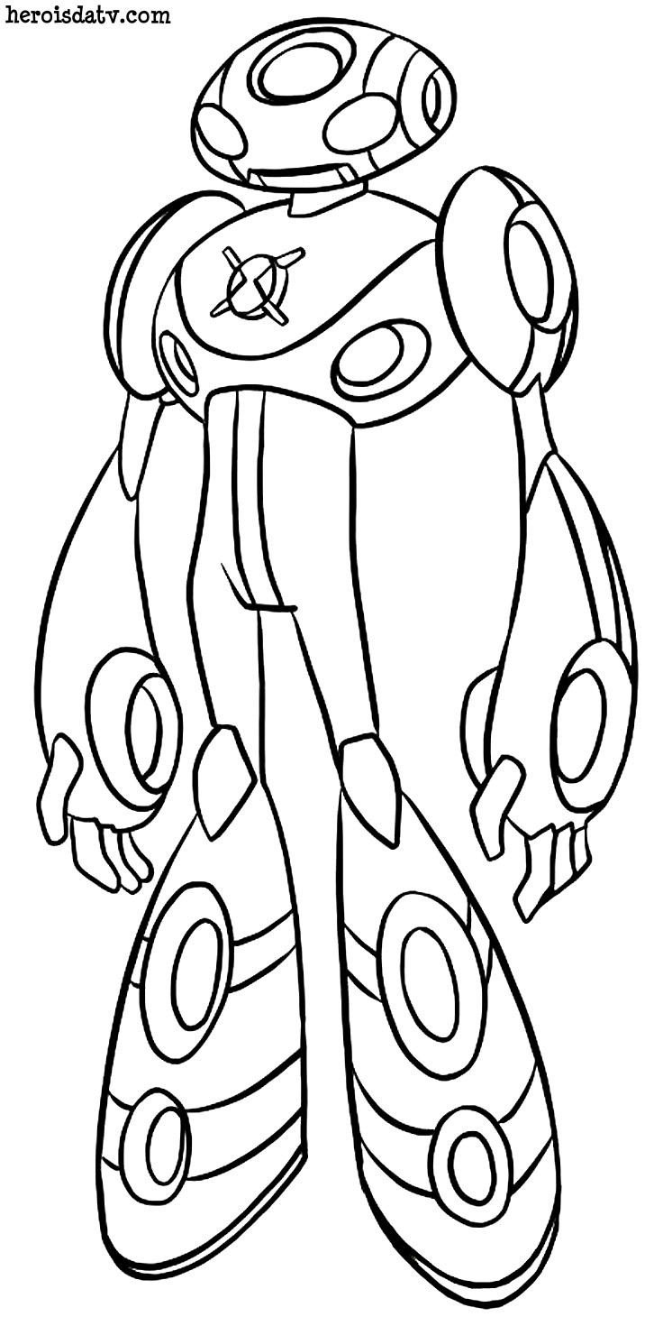 Desenhos Para Colorir Ben 10 Supremacia Alienígena » Desenhos Para