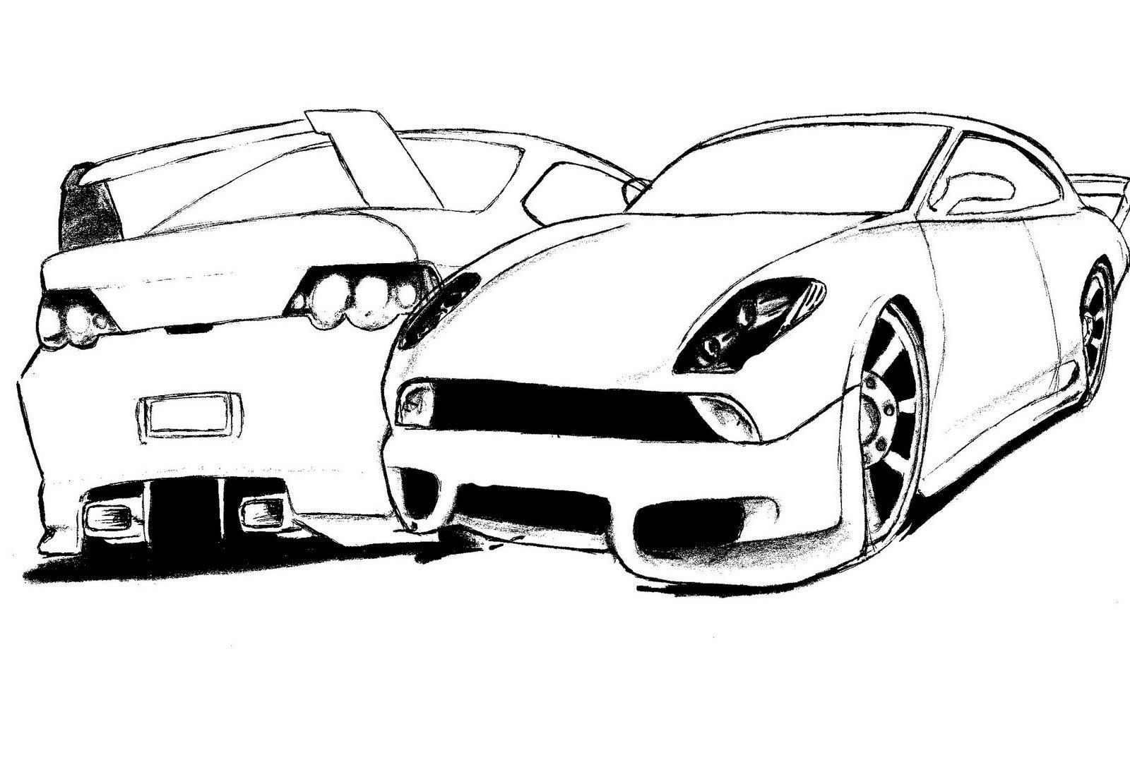 Desenho Para Colorir De Carros Disney: Desenhos Para Imprimir Dos Carros