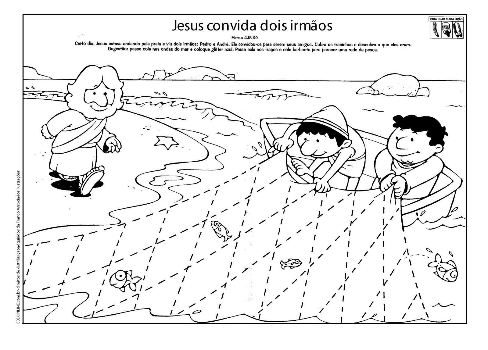 Desenhos Para Colorir Da Bíblia