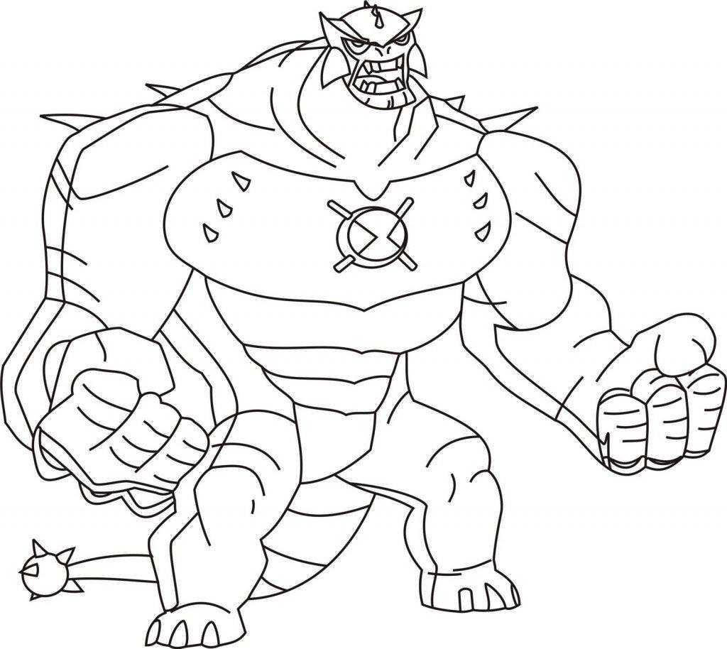Desenhos Para Colorir Do Ben 10 No Jogos Online Wx
