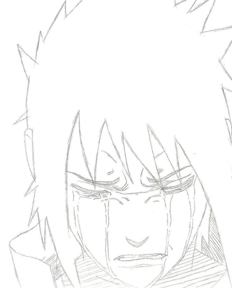 Desenhos Para Colorir Do Sasuke Uchiha Az Dibujos Colorear Sketch