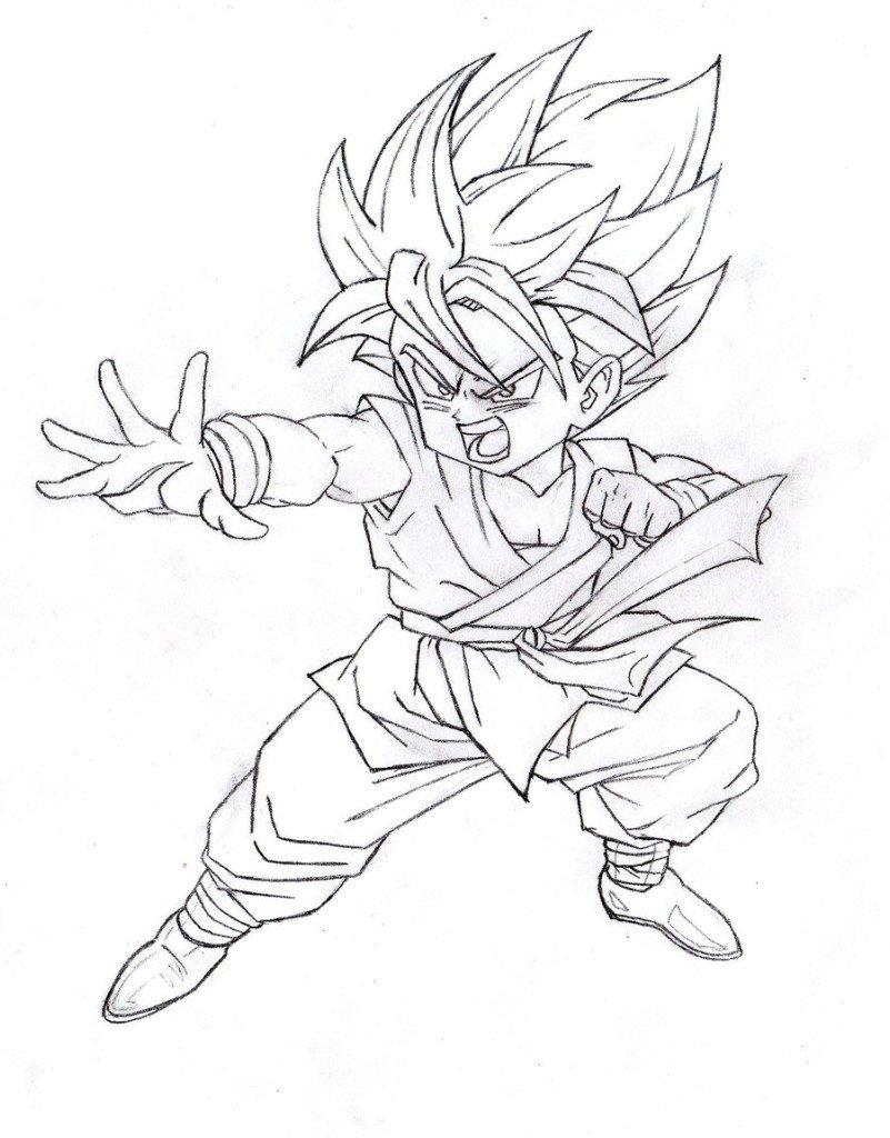 Desenhos Para Colorir Dragon Ball