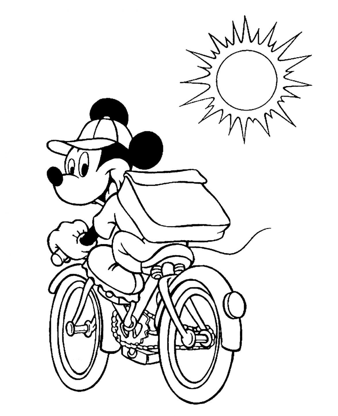Desenhos Para Colorir Mickey No Jogos Online Wx
