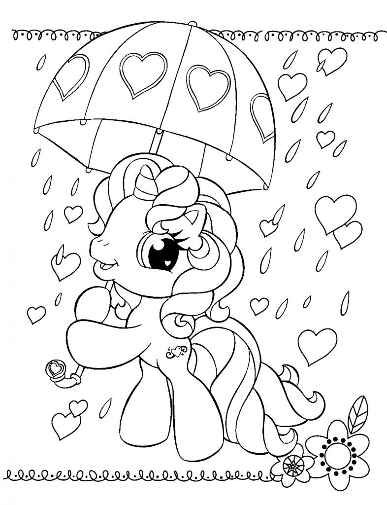 Desenhos Para Colorir O Meu Pequeno Ponei – My Little Pony No