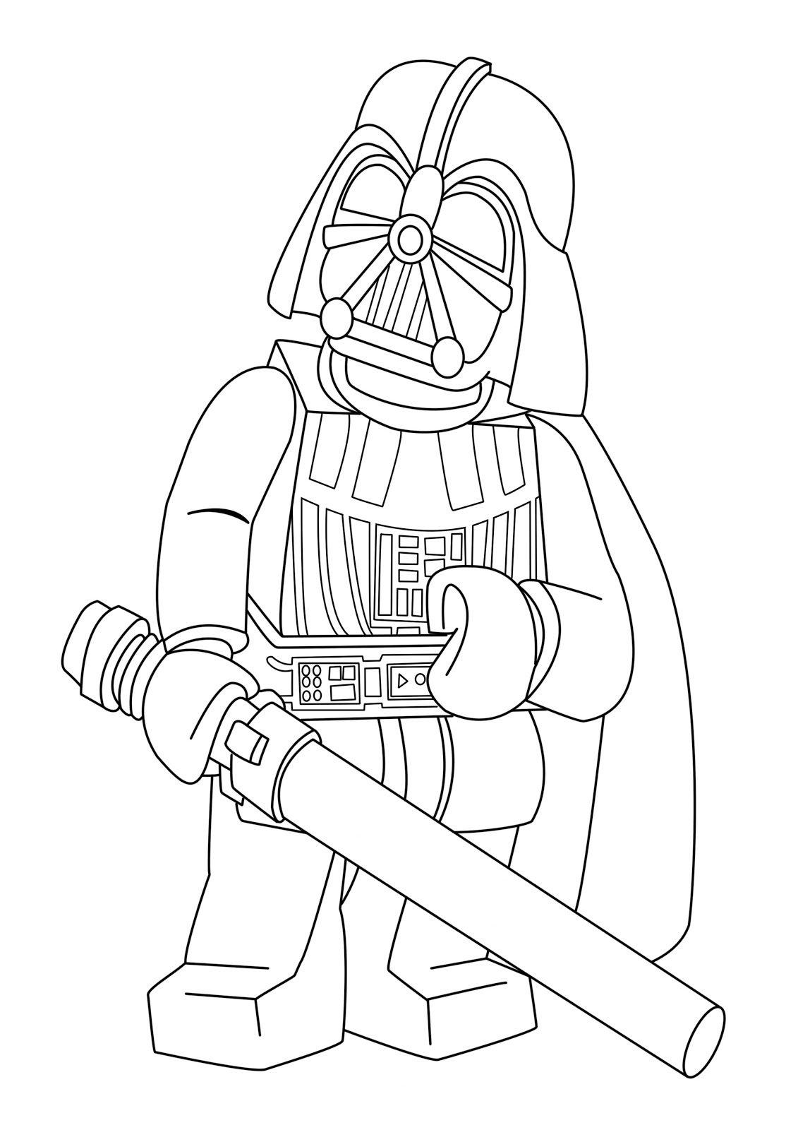 Desenhos Para Colorir Star Wars Lego No Jogos Online Wx