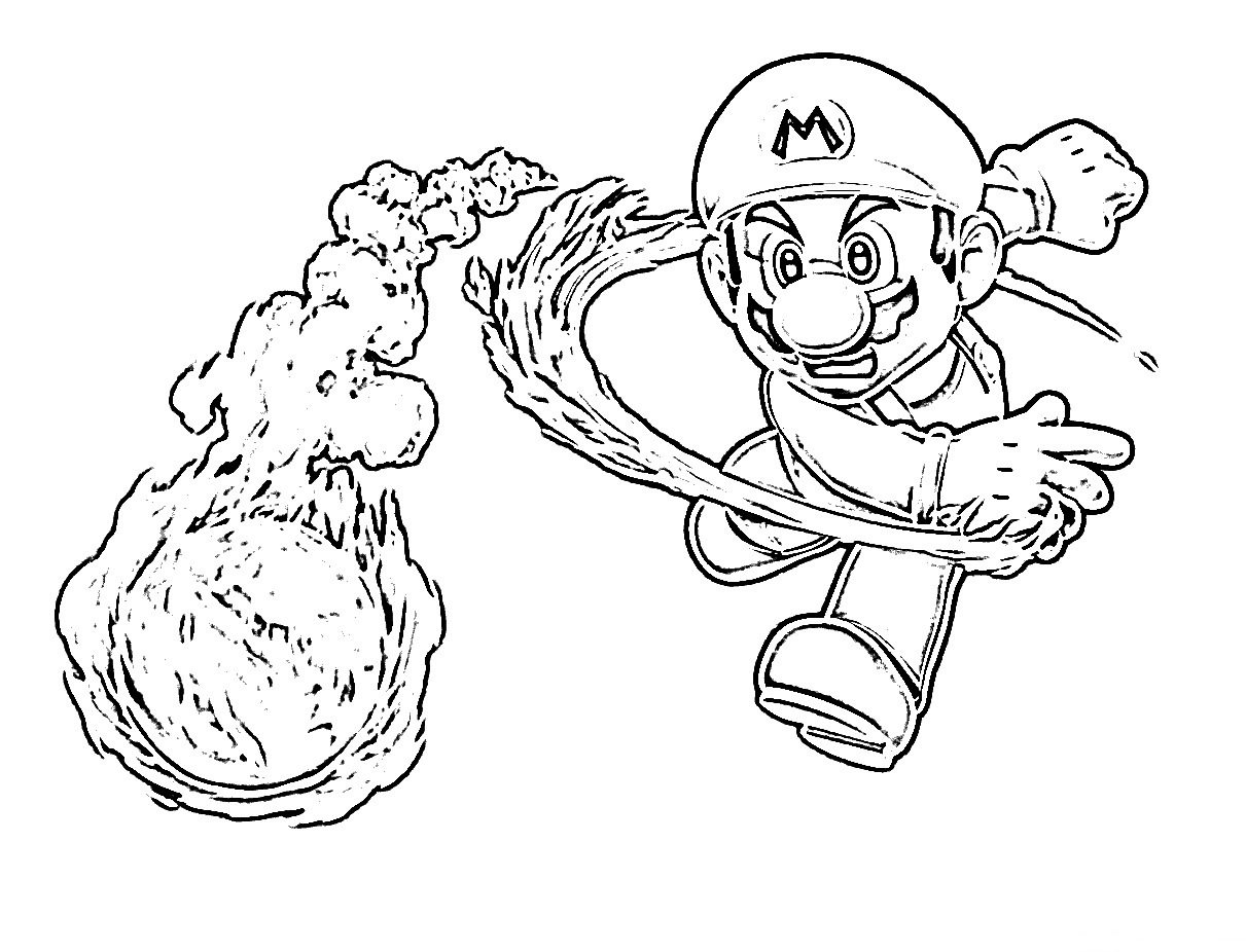 Desenhos Para Colorir Super Mario Jogos Online Wx, Desenhos Para