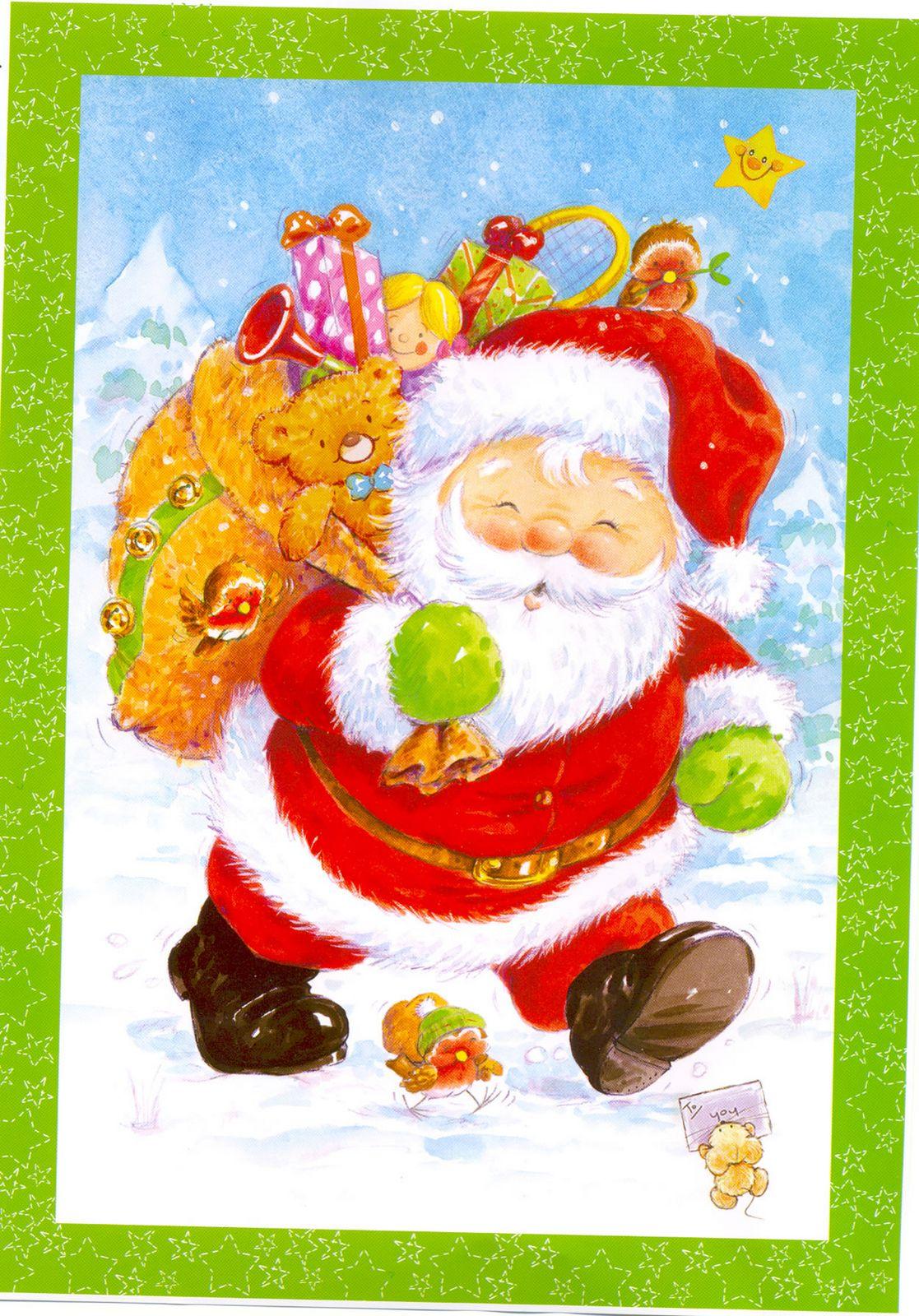 Desenhos Para Decoupage No Natal