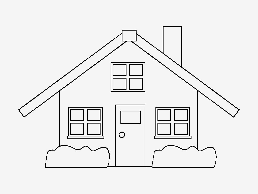 desenhos para pintar casas coloridas desenhos de casas para colorir