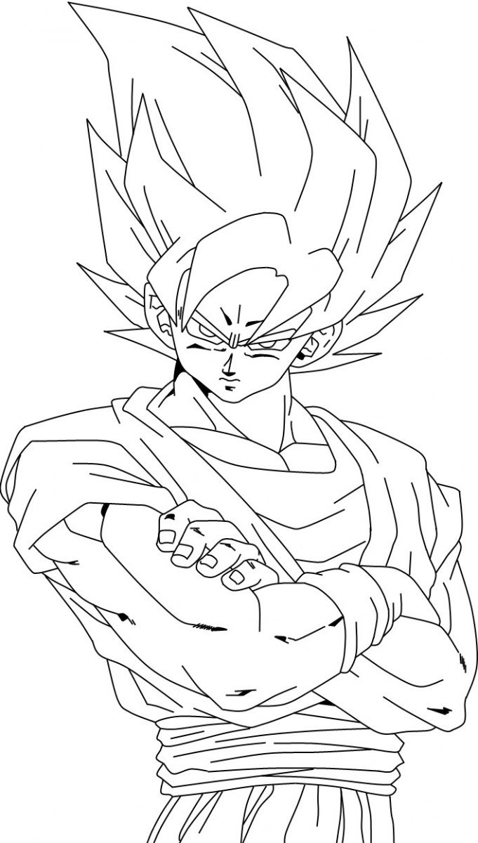 Desenhos Para Pintar Do Dragon Ball  Desenhos Para Colorir Do