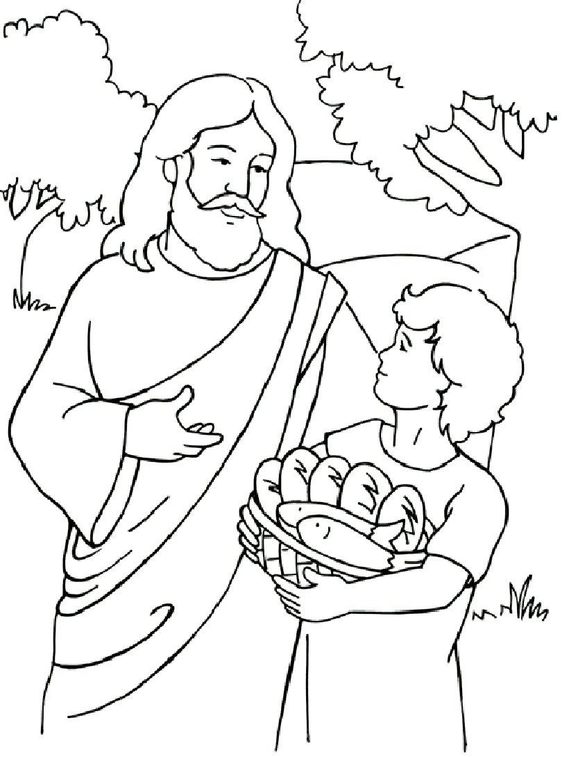 Desenhos Religiosos E Bíblicos Para Colorir – Jesus, Maria, Anjos