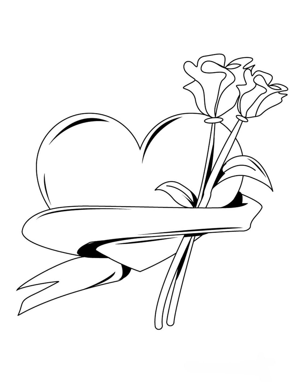 Dia Dos Namorados – Desenhos Para Imprimir Pintar E Colorir