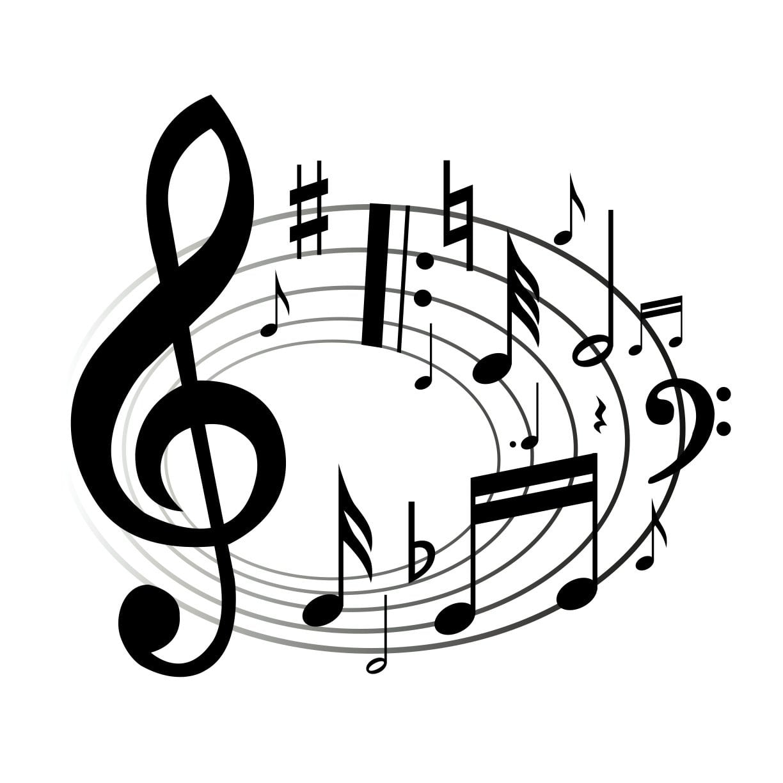 Dibujos Ideia Criativa Desenho De Notas Musicais Colorido Free