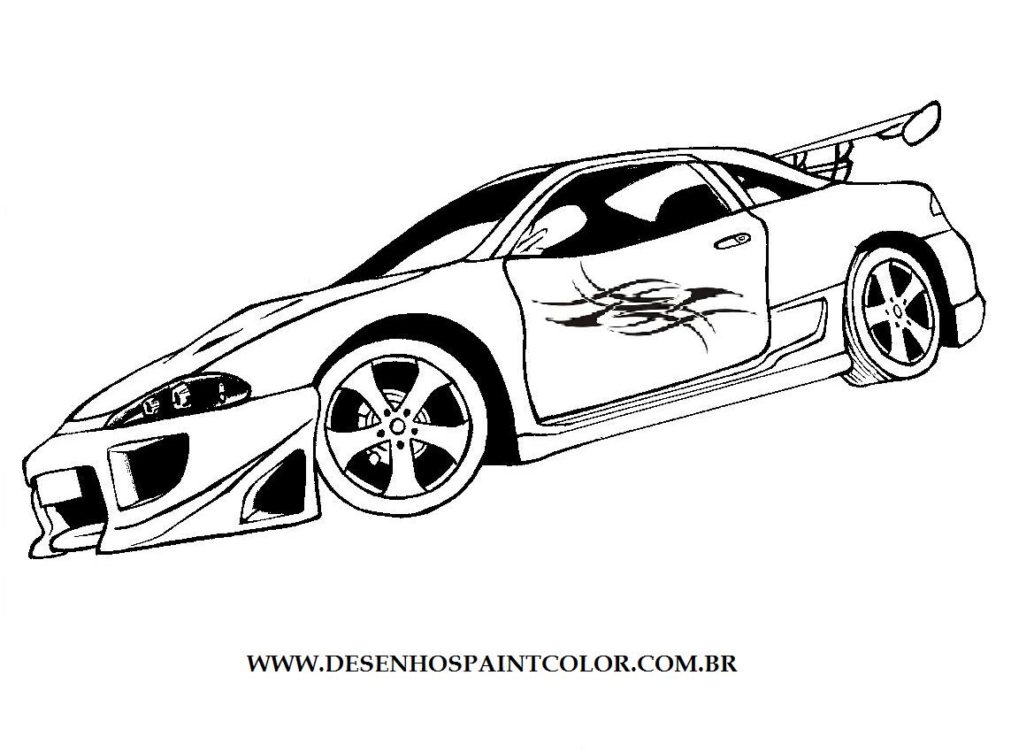 Dibujos Para Imprimir De Carros Sketch Coloring Page