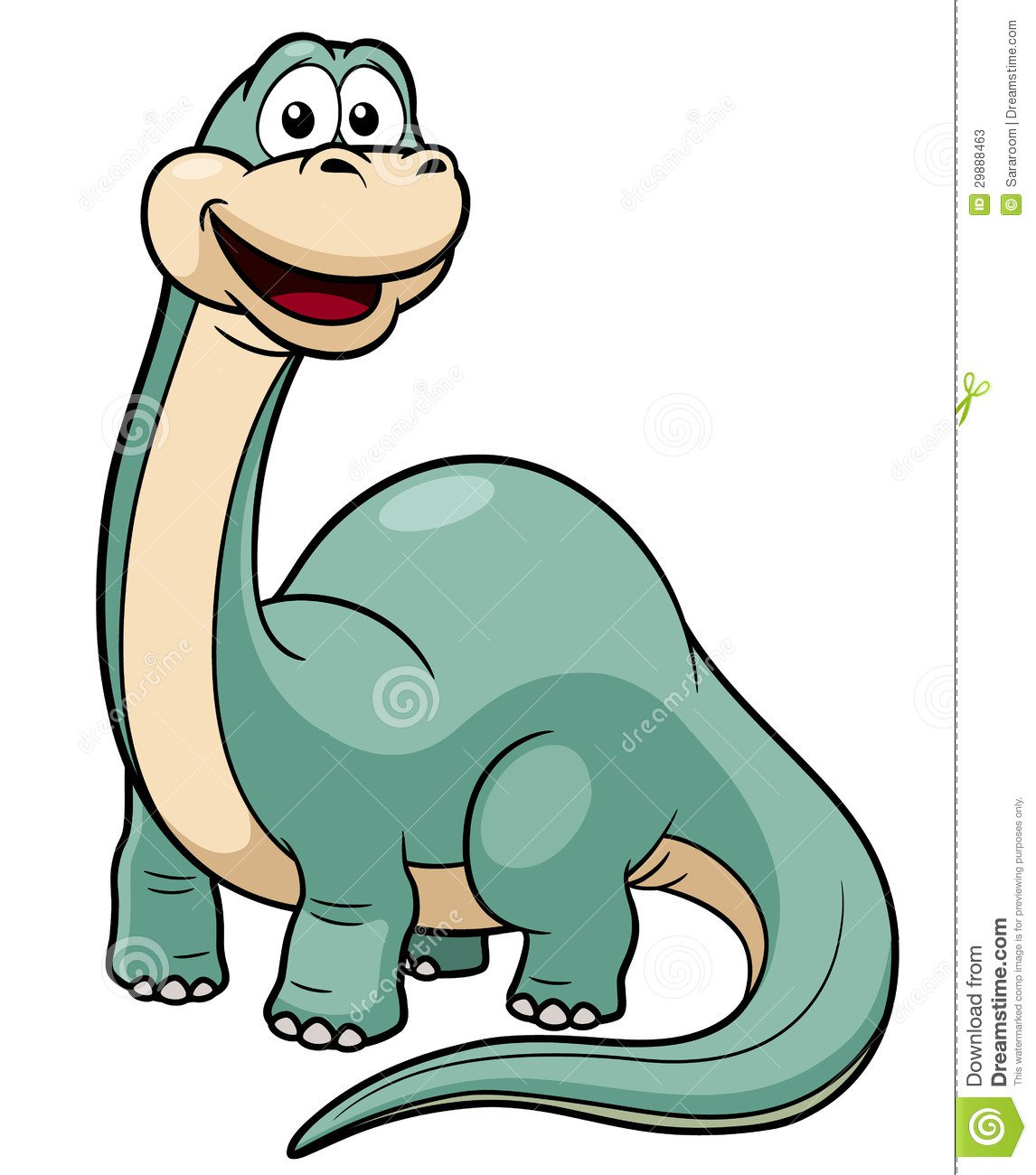Dinossauro Dos Desenhos Animados Fotos De Stock