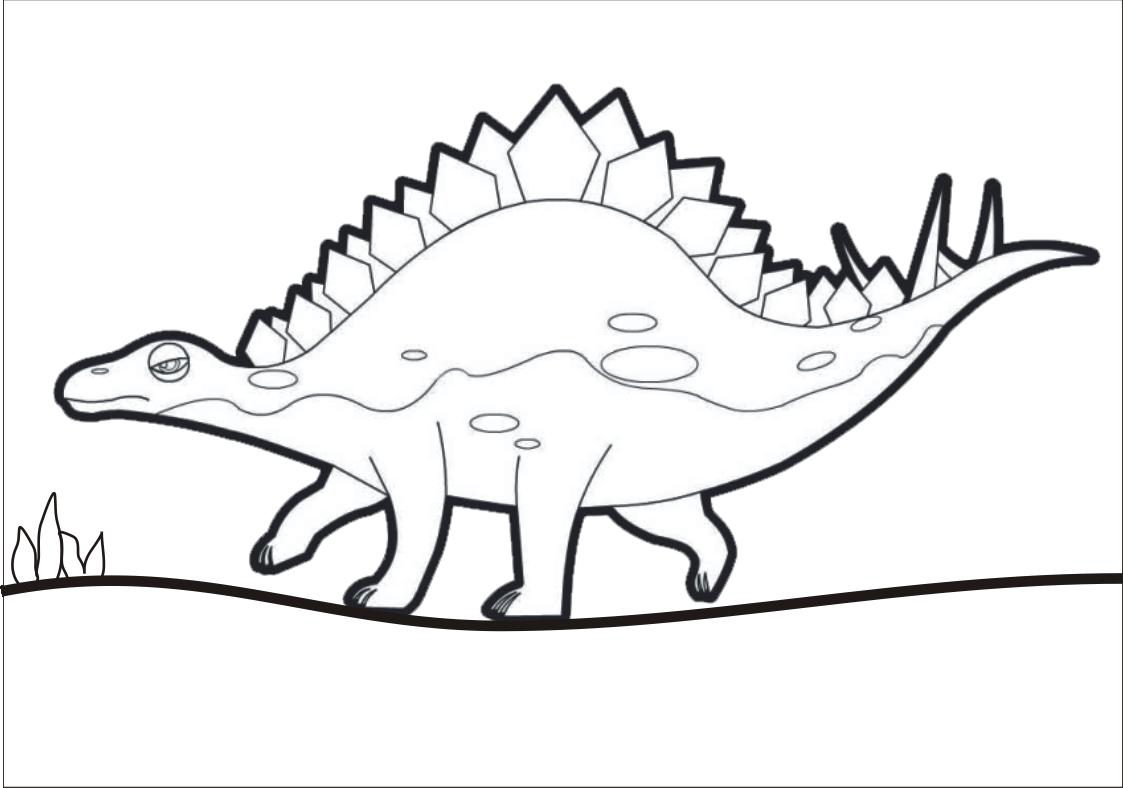 Dinossauro De Pintar