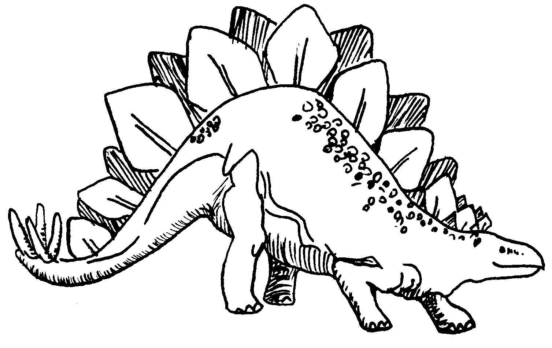 Dinossauros Pintar, Colorir, Imprimir