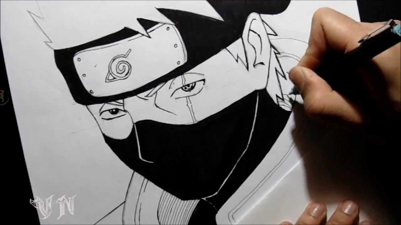 Drawing Kakashi Hatake Desenhando Kakashi Hatake By Vanderninja