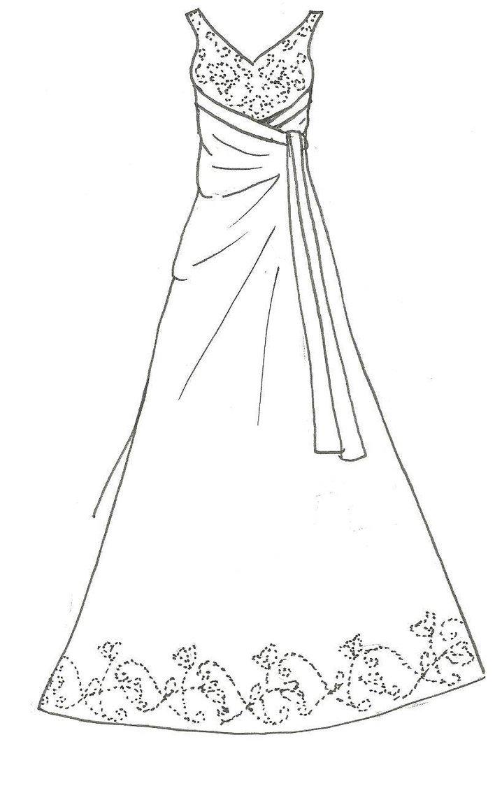 Dress Para Pintar