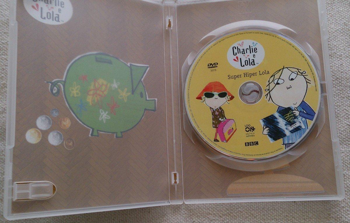 Dvd Charlie E Lola