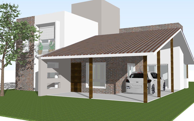 Desenho de fachadas de casas - Casas pequenas modernas ...