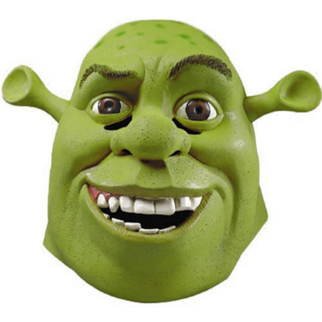 Fantasia Shrek Adulto Máscara De Látex