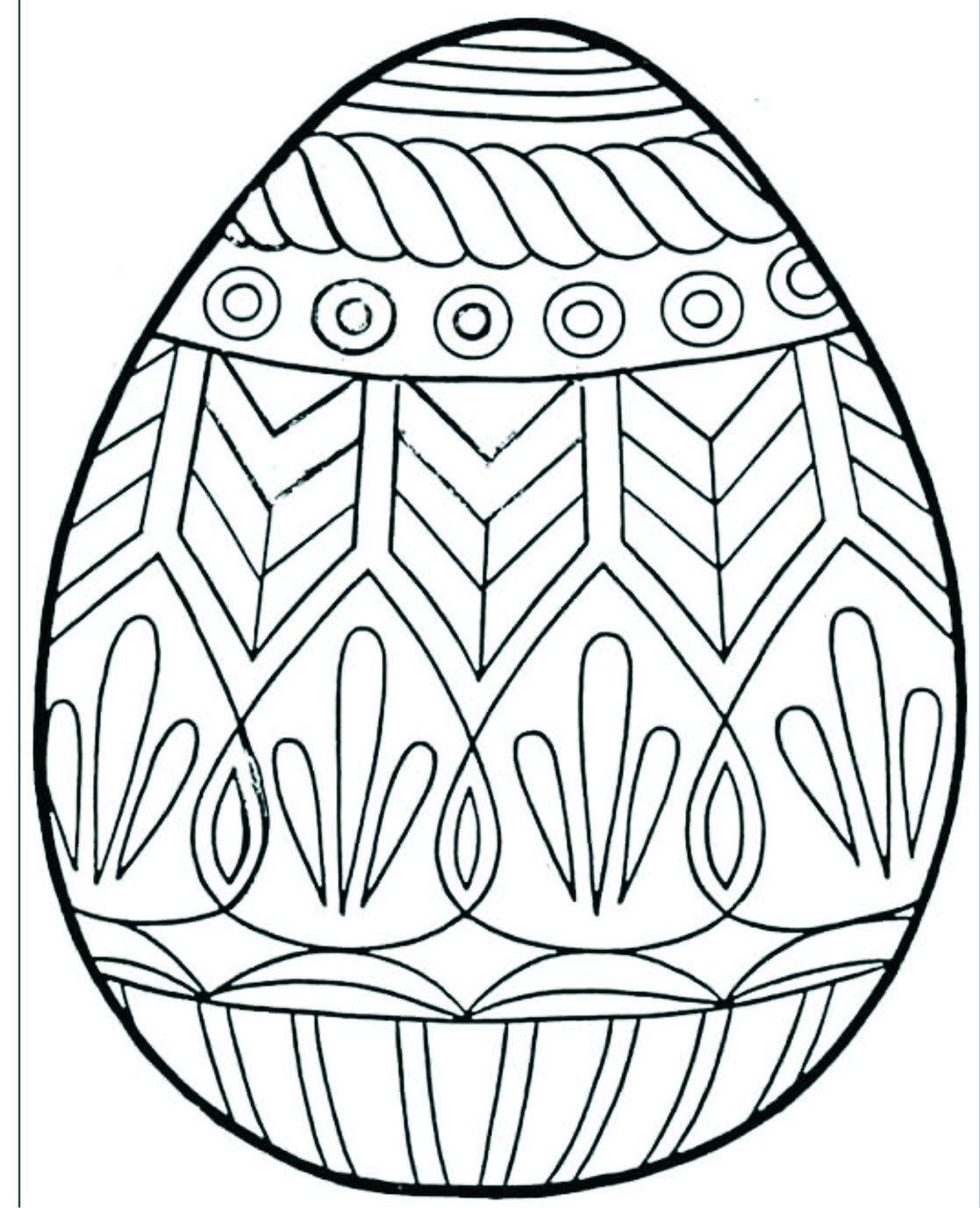 Feliz Páscoa  Colorir Ovos De Páscoa